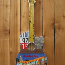 Washington DC Custom Guitar by T. Perkins